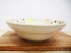 画像3: 紋花彩泥焼〆 中鉢【nicorico】 (3)