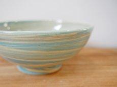 画像4: 練上マーブル ごはん茶碗 6【甲和焼 芝窯】 (4)