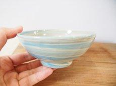 画像2: 練上マーブル ごはん茶碗 6【甲和焼 芝窯】 (2)