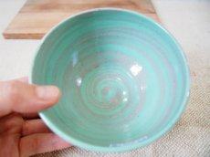 画像3: 練上マーブル ごはん茶碗 3 【甲和焼 芝窯】 (3)