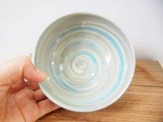 画像3: 練上マーブル ごはん茶碗 6【甲和焼 芝窯】 (3)