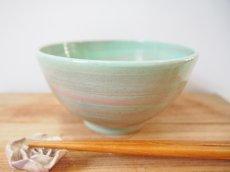 画像1: 練上マーブル ごはん茶碗 3 【甲和焼 芝窯】 (1)