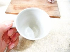画像2: ハーフ&マルチドット マグカップ(ライムイエロー)【nicorico】 (2)