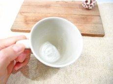 画像2: ハーフ&マルチドット マグカップ(水色)【nicorico】 (2)