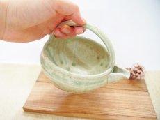 画像3: 灰釉 手付酒注 【甲和焼 芝窯】 (3)