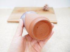 画像4: 甲和土青釉&白釉 ビアマグ【甲和焼 芝窯】 (4)