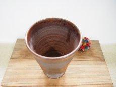 画像2: 甲和土ビアマグ 4【甲和焼 芝窯】 (2)