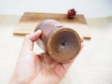 画像3: 甲和土ビアマグ 4【甲和焼 芝窯】 (3)
