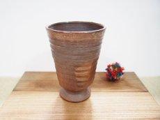 画像1: 甲和土ビアマグ 4【甲和焼 芝窯】 (1)