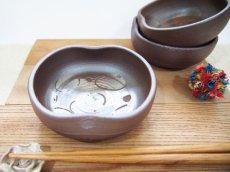 画像2: 甲和貝跡 小鉢  【甲和焼 芝窯】 (2)