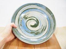 画像3: 練上マーブル 8.5寸皿【甲和焼 芝窯】 (3)