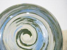画像5: 練上マーブル 8.5寸皿【甲和焼 芝窯】 (5)