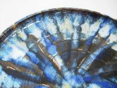 画像3: 甲和土 青釉長掛け10寸皿(大皿)【甲和焼 芝窯】 (3)