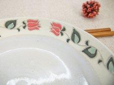 画像4: 紋花彩泥 中深皿(小さい花)【nicorico】 (4)