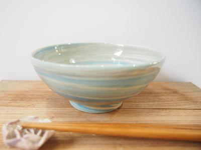 画像1: 練上マーブル ごはん茶碗 6【甲和焼 芝窯】 (1)