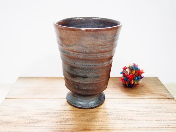 画像1: 甲和土ビアマグ 3【甲和焼 芝窯】 (1)