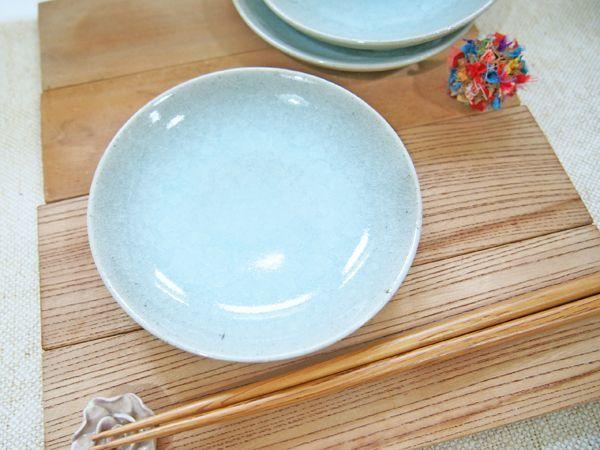 画像1: 青磁 取皿【甲和焼芝窯】 (1)