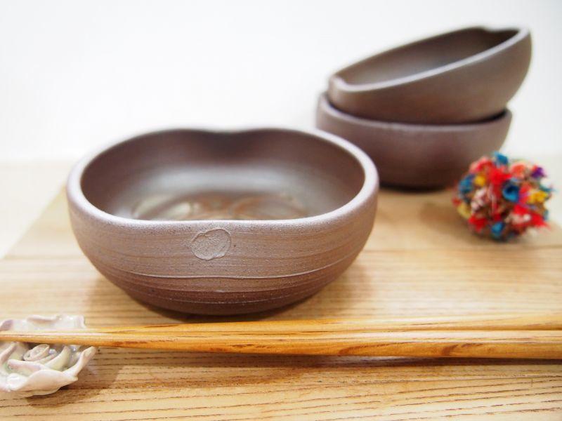 画像1: 甲和貝跡 小鉢  【甲和焼 芝窯】 (1)