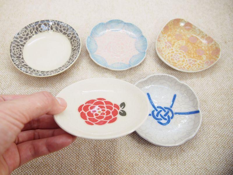 画像1: 【おうち時間セット5-1】豆皿アソート 5枚セット-1 【nicorico】 (1)